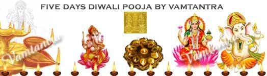 diwali puja five days rituals