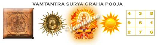 puja for surya graha dosh in horoscope or kundli